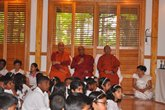 Dhamma School Prize and Certificate Awarding Ceremony - 24 May 2015.